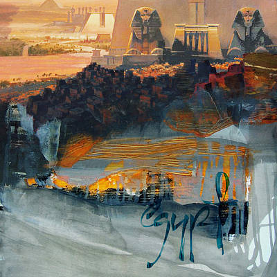 Painting - Egyptian Culture 47b by Corporate Art Task Force