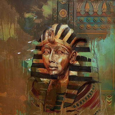 Culture Painting - Egyptian Culture 52 by Corporate Art Task Force