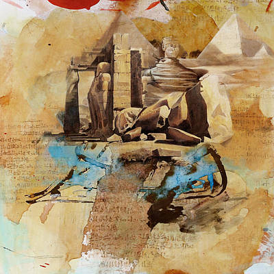 Painting - Egyptian Culture 56 by Corporate Art Task Force