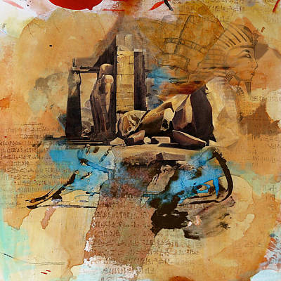Painting - Egyptian Culture 56b by Corporate Art Task Force