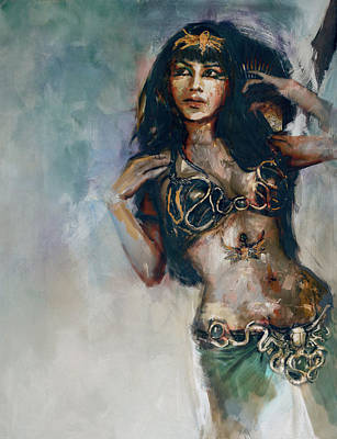 Egyptian Culture 5b Original by Mahnoor Shah