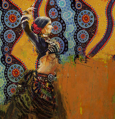 Painting - Egyptian Culture 77b by Mahnoor Shah
