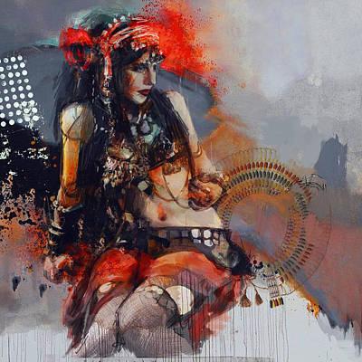 Egyptian Culture 81b Art Print by Mahnoor Shah