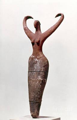 Photograph - Egyptian Figure by Granger