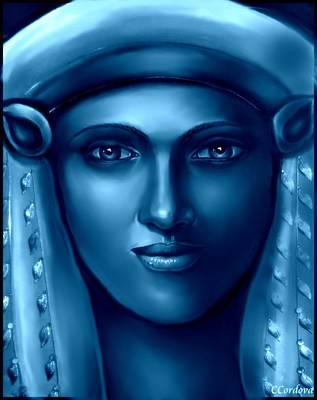 Egyptian Goddess 2 Art Print