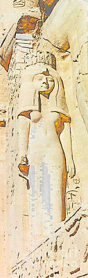 Photograph - Egyptian Goddess by Lisa Dunn