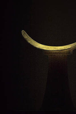 Photograph - Egyptian Headrest 1 by Nadalyn Larsen