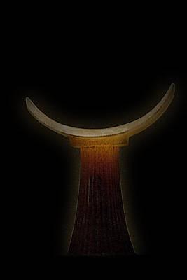 Photograph - Egyptian Headrest 3 by Nadalyn Larsen