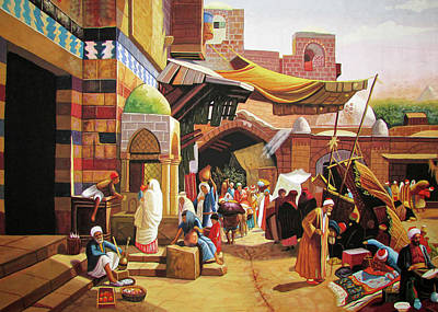 Photograph - Egyptian Market by Munir Alawi
