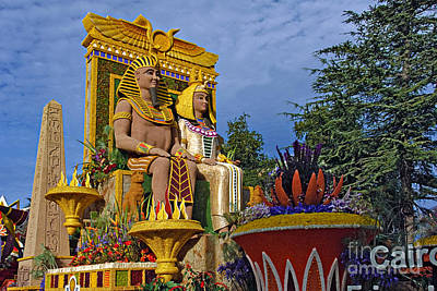 Ca Photograph - Egyptian Pharaoh King Queens by David Zanzinger