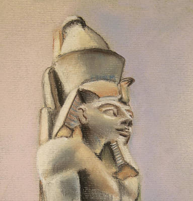 Drawing - Egyptian Study by Elizabeth Lock