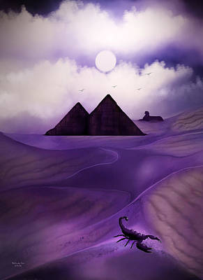 Digital Art - Egyptian Sands by Artful Oasis