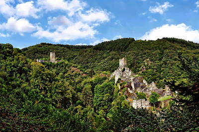 Photograph - Eifel Castle Region by Anthony Dezenzio