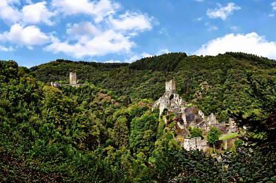 Photograph - Eifel Castle Region by Anthony Dezenzio