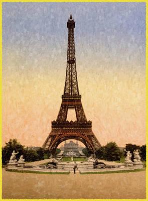 Painting - Eifel Tower by Gary Grayson