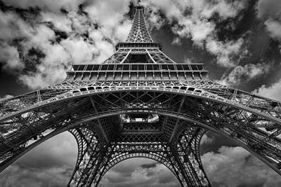 Eifell Tower Photograph - Eifell Tower by Martin Bisof