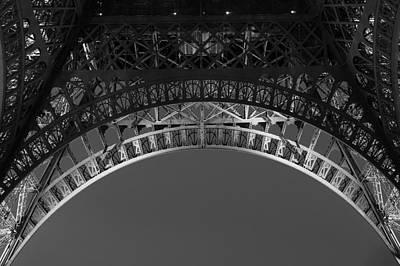 Eiffel Photograph - Eiffel Arches by Andrew Soundarajan