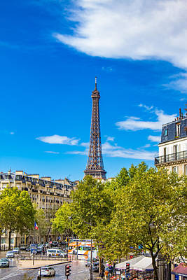 Photograph - Eiffel Around Town by Kim Wilson