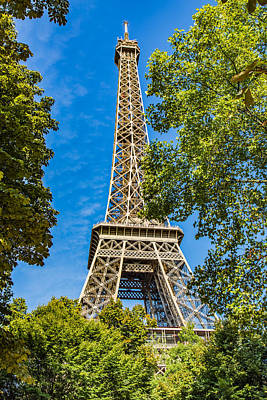 Photograph - Eiffel Framed by Kim Wilson