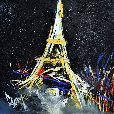 Painting - Eiffel by Gary Smith