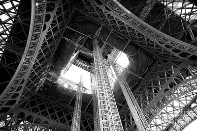 Photograph - Eiffel Mechanics by John Rizzuto