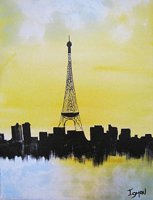 Painting - Eiffel Of Paris by Gary Smith