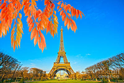 Photograph - Eiffel - Paris by Luciano Mortula