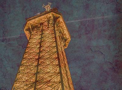 Photograph - Paris, France - Eiffel Peak by Mark Forte