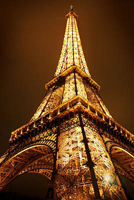 Paris Photograph - Eiffel by Skip Hunt
