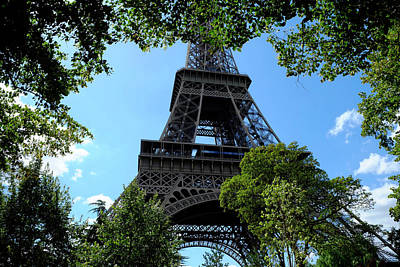 Photograph - Eiffel Through Trees by August Timmermans