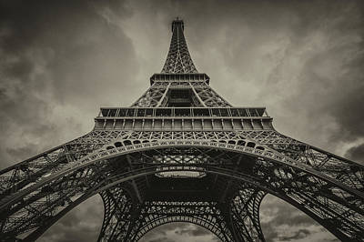 Eiffel Tower 1 Art Print