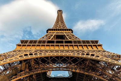 Paris Skyline Royalty-Free and Rights-Managed Images - Eiffel Tower - #2 by Stephen Stookey