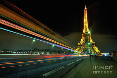 Photograph - Eiffel Tower 2.0 by Yhun Suarez