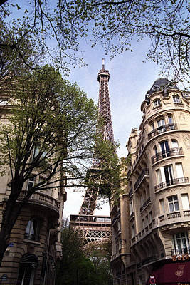 Photograph - Eiffel Tower 2b by Andrew Fare