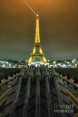 Photograph - Eiffel Tower 3.0 by Yhun Suarez