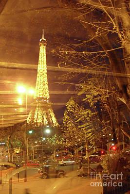 Polaroid Camera - Eiffel Tower by Bus Tour by Felipe Adan Lerma