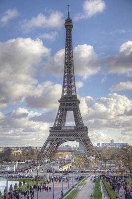 Eiffel Tower Photograph - Eiffel Tower by Chris Coleman