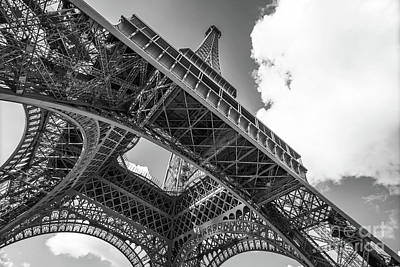 Photograph - Eiffel Tower by Delphimages Photo Creations