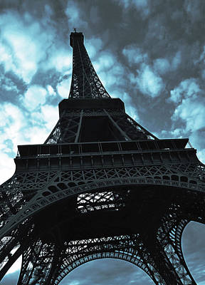 Photograph - Eiffel Tower by Fine Arts