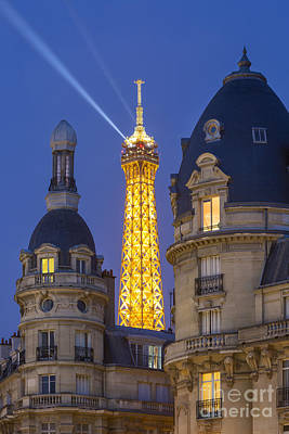 Photograph - Eiffel Tower From Passy by Brian Jannsen