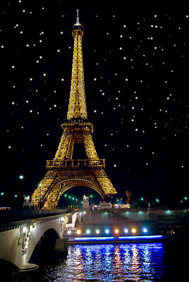 Photograph - Eiffel Tower by Harry Spitz