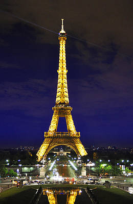 Eiffel Tower Illumination By Night Original