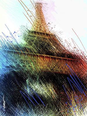 Eiffel Tower Art Print by James Metcalf