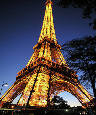 Photograph - Eiffel Tower by Jim Mathis