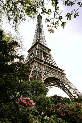 Photograph - Eiffel Tower by Joe Bonita