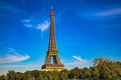 Photograph - Eiffel Tower by Kim Wilson