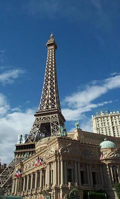 Eiffel Tower Las Vegas Nevada Art Print by Alan Espasandin