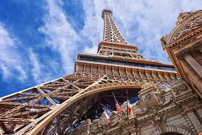 Photograph - Eiffel Tower Las Vegas  by Ricardo J Ruiz de Porras