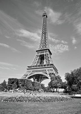 Photograph - Eiffel Tower by Matt MacMillan