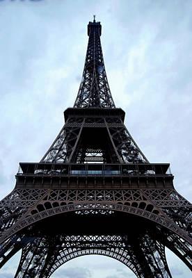 Art Print featuring the photograph Eiffel Tower by Nancy Bradley